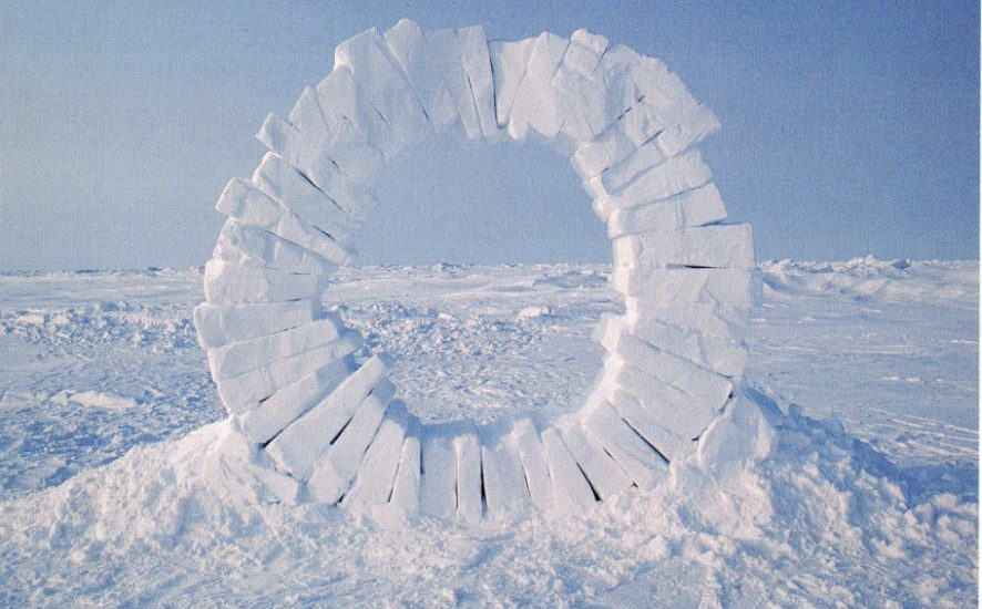 Andy-Goldsworthy-Touching-North-1989-part-1-out-of-4-North-Pole