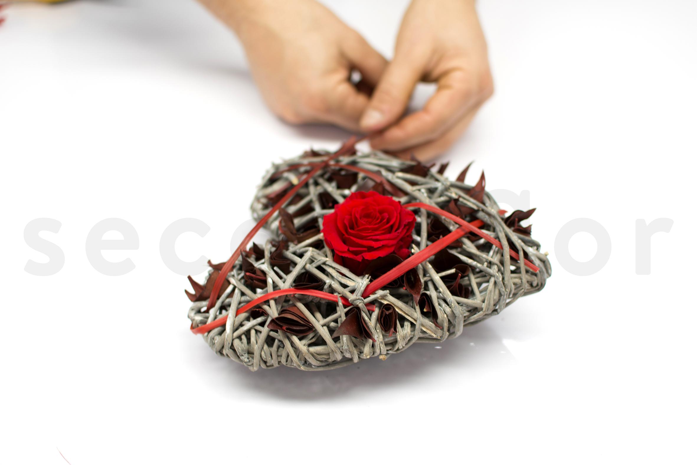 SN-DIY-Rose au coeur - étape 6