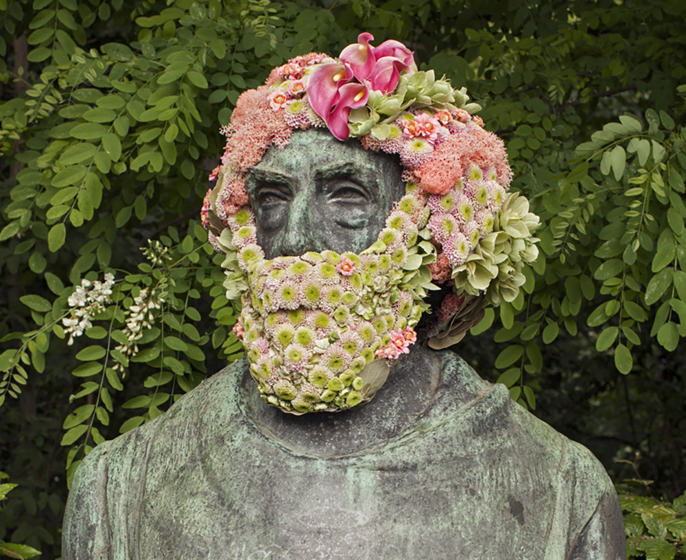Victor Rousseau 05-2016 de Georges Vandevoorde vue du buste Av. maréchal Joffre X Av. Rousseau 1190 Forest